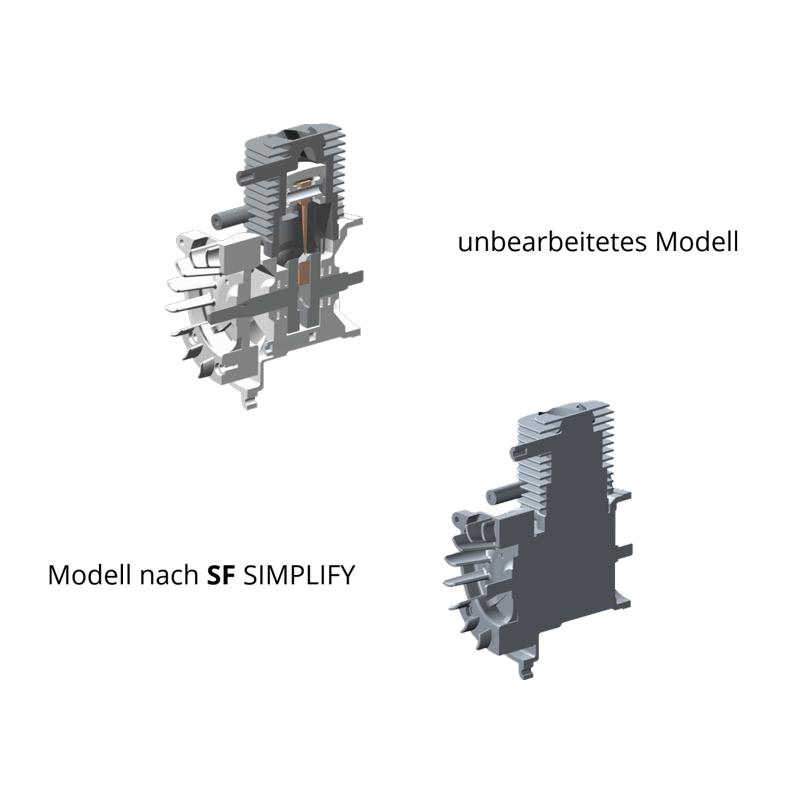SF SIMPLIFY Vergleichsansicht